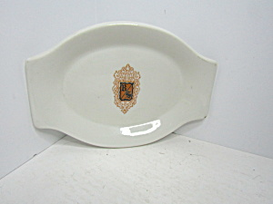 Vintage Jackson Custom China Small Platter
