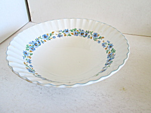 J & G Meakin Alpine Mist Clasic White Serving Bowl