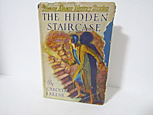 Vintage Book Nancy Drew Mystery The Hidden Staircase