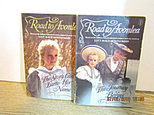 Vintage Young Girls Book Set Road To Avonlea 1 & 2