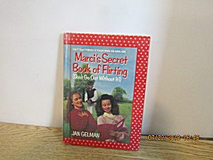 Young Girls Book Marci's Secret Book Of Flirting