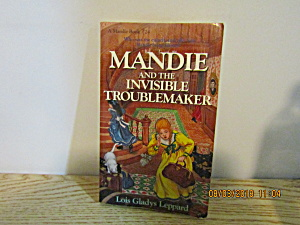 Young Girls Book Mandie And The Invisible Troublemaker (Image1)