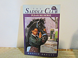 Young Girls Book The Saddle Club Pleasure Horse