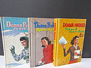 Donna Parker Adventure Book Set