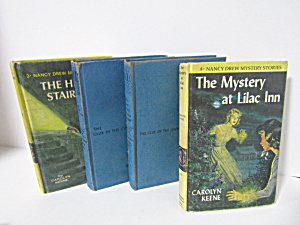 Vintage Nancy Drew Mystery Stories Set