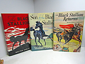 The Black Stallion Three Book Set
