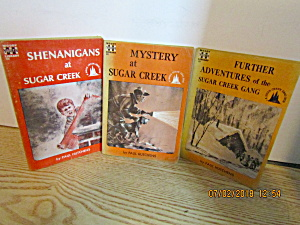Vintage Three Book Set Of Sugar Creek Gang