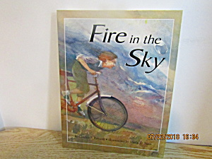 Vintage Youth Book Fire In The Sky