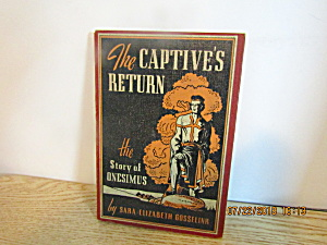 Youth Book The Captive's Return The Story Of Onesimus