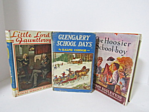 Three Vintage Young Readers Boy Adventure Stories
