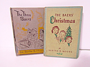 Books The Three Baers & The Baers Christmas
