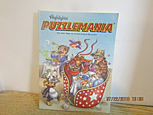Vintage Puzzle Book Highlight's Puzzlemania
