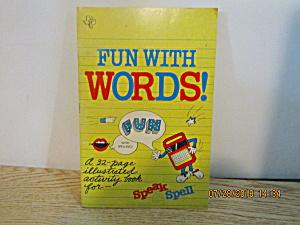 Activity Book Fun With Words Speak & Spell (Image1)