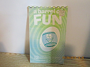Activity Books A Barrel Of Fun & Travel Games