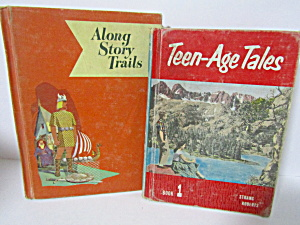 Vintage Books Teenage Tales & Along Story Trails