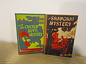 Book Set The Shanghai Mystery & Chicken Devil Mystery