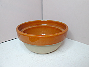 Vintage Kitchen Collectibles Stoneware Bowl