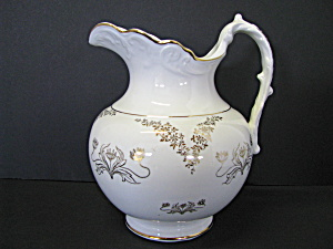 Vintage K.t. & K China Simi-vitreous Water Pitcher