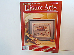 Vintage Leisure Arts The Magazine October 1989