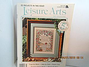 Vintage Leisure Arts The Magazine June 1991 (Image1)