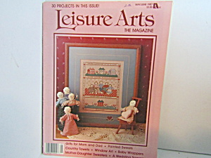 Vintage Leisure Arts The Magazine May/june 1987