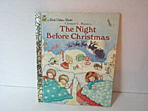 Little Golden Book The Night Before Christmas