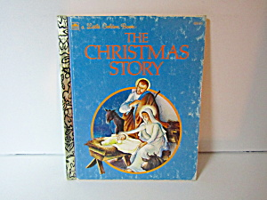 Vintage Little Golden Book The Christmas Story