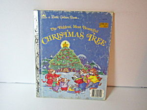 Golden Book The Biggest,most Beautiful Christmas Tree