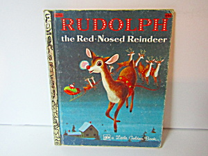 Little Golden Book Rudolph The Red-nosed Reindeer