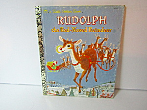 Little Golden Book Rudolph The Red Nosed Reindeer 2
