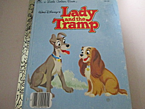 Little Golden Book Disney's Lady And The Tramp