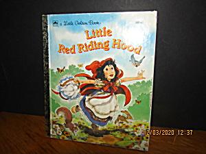Little Golden Book Little Red Riding Hood (Image1)