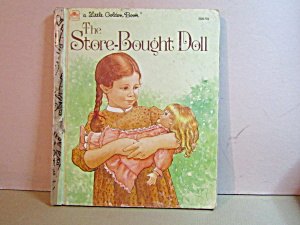 Vintage Little Golden Book The Store Bought Doll