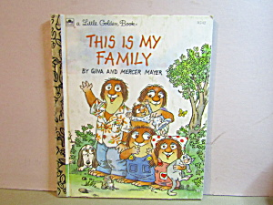 Little Golden Book This Is My Family