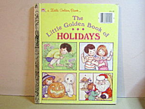 Vintage The Little Golden Book Of Holidays