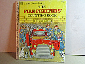 Golden Book The Fire Fighters Counting Book