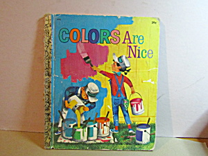 Vintage Little Golden Book Colors Are Nice
