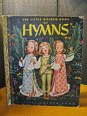 Vintage The Little Golden Book Of Hymns