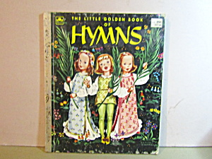 Vintage Golden Book The Little Golden Book Of Hymns