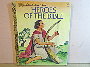 Little Golden Book Heroes Of The Bible