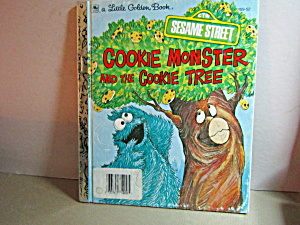 Vintage Golden Book Cookie Monster And The Cookie Tree