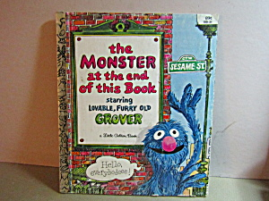 Golden Book The Monster At The End Of This Book