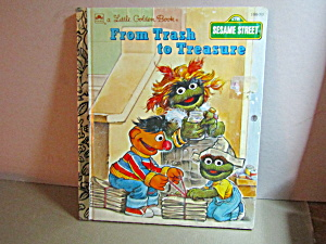 Vintage Little Golden Book From Trash To Treasure