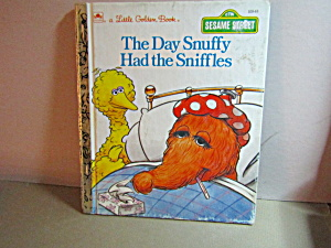 Little Golden Book The Day Snuffy Had The Sniffles