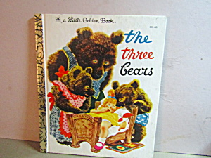 Vintage Little Golden Book The Three Bears