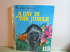 Vintage Little Golden Book A Day In The Jungle