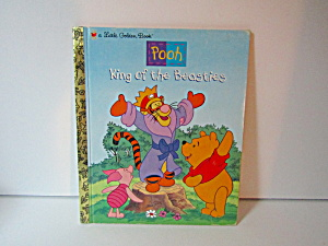 Golden Books Disney Pooh King Of The Beasties