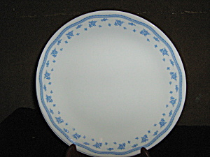 Vintage Corelle Morning Blue Dinner Plate