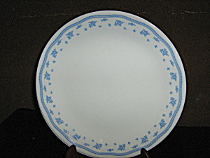 Vintage Corelle Morning Blue Luncheon Plate