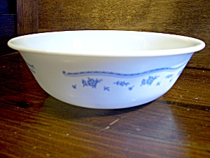 Vintage Corelle Morning Blue Cereal Bowl